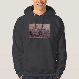 Old Trucks Rock Hooded Sweatshirts