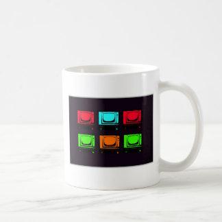 Old Tv Collage Coffee Mug