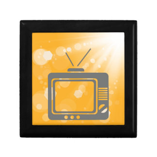 old tv gift box