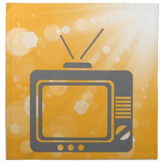 old tv napkin