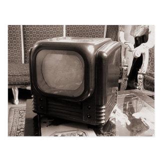 Old TV Postcard