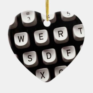 Old_Typewriter Ceramic Ornament