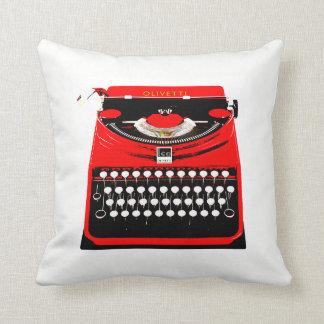 Old Typewriter Cushion