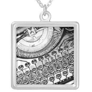Old Typewriter Necklace