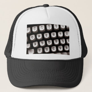 Old Typewriter Trucker Hat