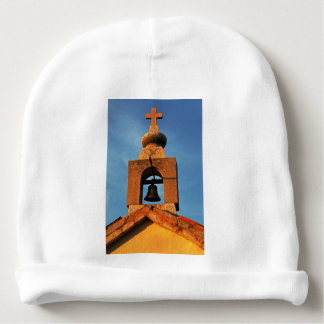 Old village church on the island Pag in Croatia Baby Beanie