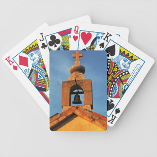Old village church on the island Pag in Croatia Bicycle Playing Cards