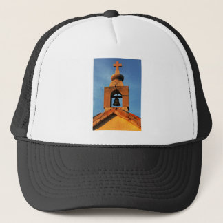 Old village church on the island Pag in Croatia Trucker Hat