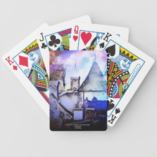 OLD VILLAGE IN FRANCE BICYCLE PLAYING CARDS