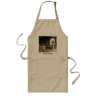 old vintage farm tools of the trade art picture aprons