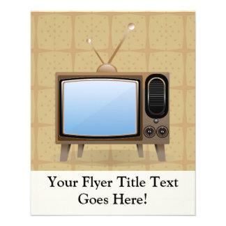 Old Vintage Floor Television Flyer