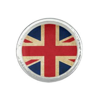 Old Vintage Grunge United Kingdom Flag Union Jack