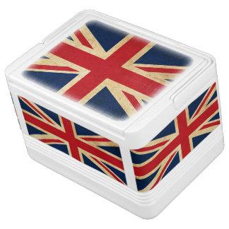 Old Vintage Grunge United Kingdom Flag Union Jack Cooler