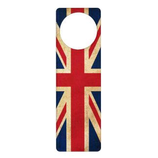 Old Vintage Grunge United Kingdom Flag Union Jack Door Hanger