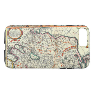 Old Vintage Map of Asia Circa 1626 iPhone 7 Plus Case