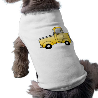 Old Vintage Truck Sleeveless Dog Shirt