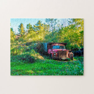 Old Vintage Truck Vermont. Jigsaw Puzzle