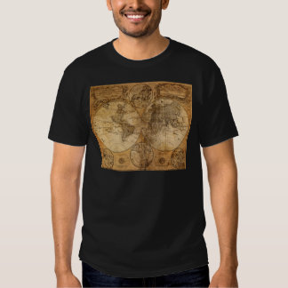 Old Vintage World Map T-shirts