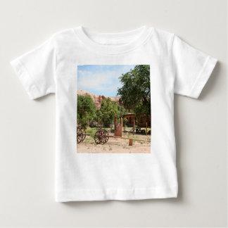 Old wagon, pioneer village, Utah 2 Baby T-Shirt