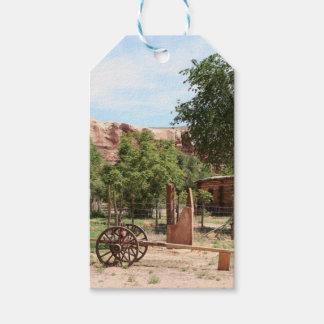 Old wagon, pioneer village, Utah 2 Gift Tags