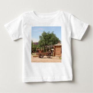 Old wagon, pioneer village, Utah Baby T-Shirt