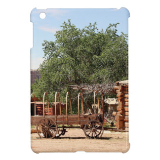 Old wagon, pioneer village, Utah iPad Mini Cover