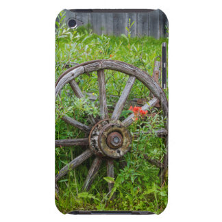 Old wagon wheel in historic old gold town 3 barely there iPod cover