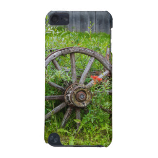 Old wagon wheel in historic old gold town 3 iPod touch (5th generation) covers