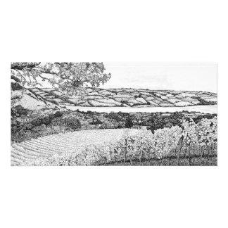 Old Walls Vineyard long version - Photo Card