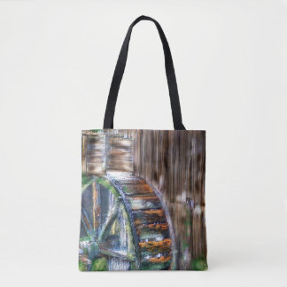 Old Waterwheel Tote Bag
