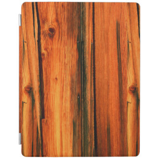 old weathered barn boards iPad cover