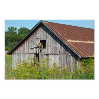 Old Weathered Barn Photography Print