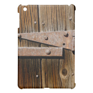 Old Weathered Wood and Rusty Metal Cover For The iPad Mini