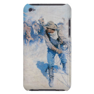 Old West Breaking Horses Case-Mate iPod Touch Case-Mate iPod Touch Case