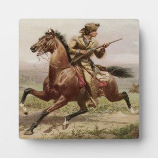 Old West Buffalo Bill 1885 w/Easel Plaque