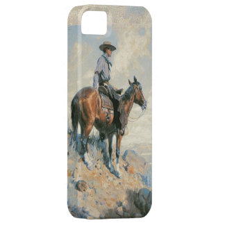 Old West Cowboy Scout iPhone 5 Cover