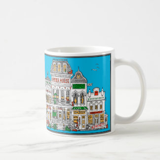 Old West Frontier Street Coffee Mug