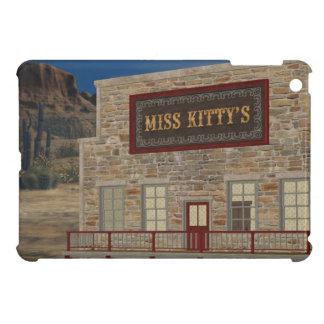 Old West Miss Kitty's iPad Mini Glossy Finish Case iPad Mini Covers
