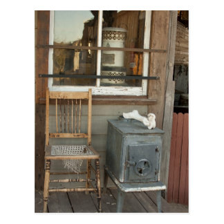 Old West Porch Postcard