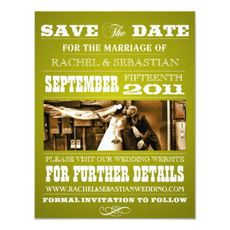 OLD WEST SAVE THE DATE ANNOUNCEMENT