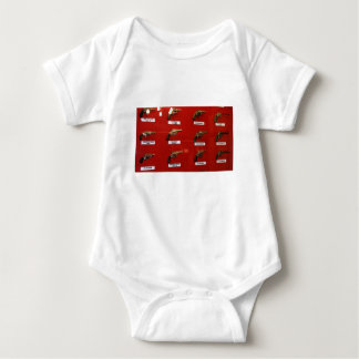 Old West Six-shooters Baby Bodysuit