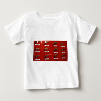 Old West Six-shooters Baby T-Shirt
