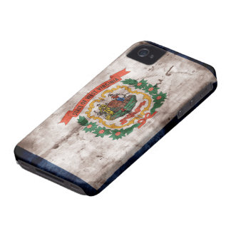 Old West Virginia Flag iPhone 4 Cover