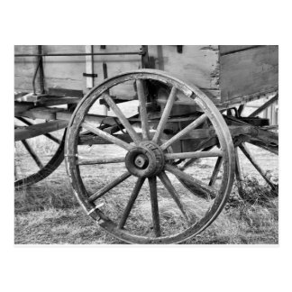 Old West Wagon Postcard