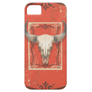 Old Western Cow Skull iPhone 5 Cases