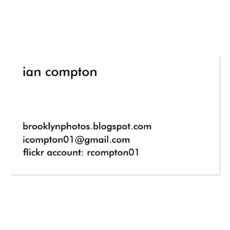 Old White Brick Business Card Templates