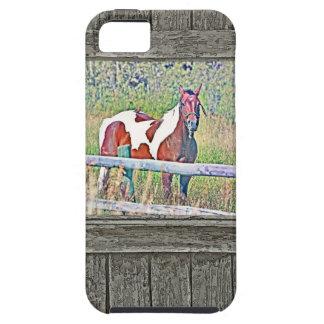 Old window pony 1 tough iPhone 5 case