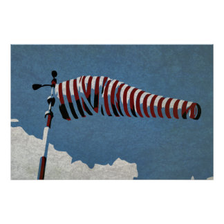Old windsock poster