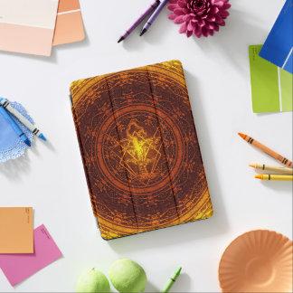 Old withered tree-Orange Yellow Burst iPad Pro Cover