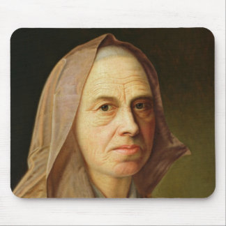 Old Woman Mouse Pad